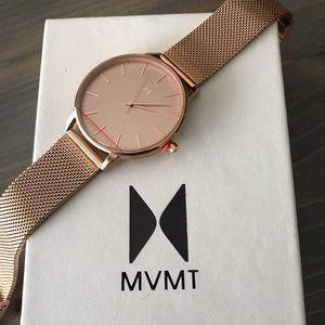 MVMT Hermosa Watch 38mm - Rose Gold